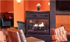 One Washington Circle Hotel Amenities - Restaurant Fireplace