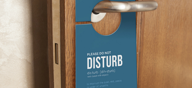 Do Not Disturb Package