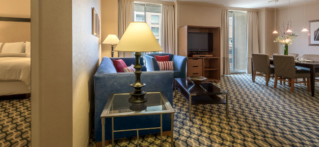 One Washington Circle Hotel Executive King Suite