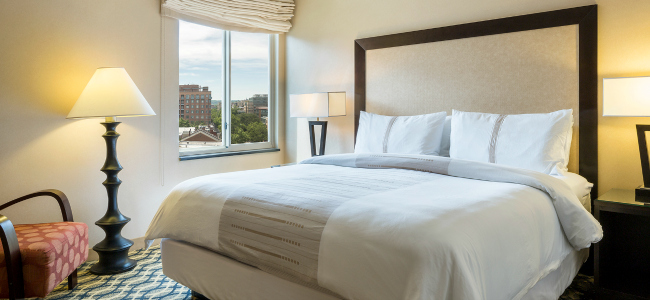 One Bedroom Queen Suite at One Washington Circle Hotel